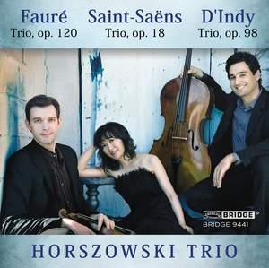 Horszowki Trio plays Saint-Saëns, Fauré and d'Indy