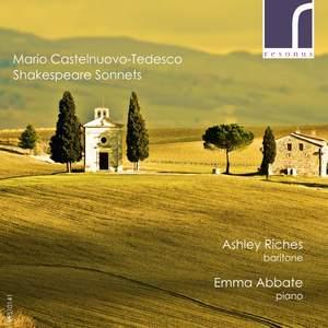 Castelnuovo-Tedesco: Shakespeare Sonnets