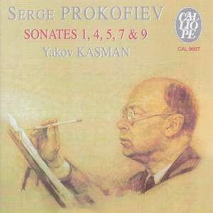 Prokofiev: Piano Sonatas Nos. 1, 4, 5, 7 & 9 Product Image