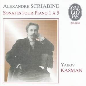 Scriabin: Piano Sonatas Nos. 1-5