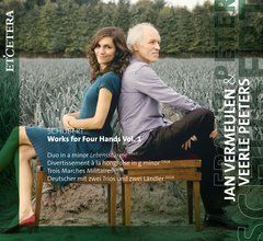 Schubert: Works for Four Hands Vol. 1
