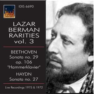 Lazar Berman Rarities, Vol. 3 (Live)