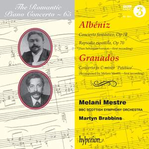 The Romantic Piano Concerto 65 - Albéniz & Granados Product Image
