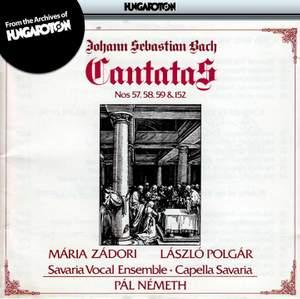 JS Bach: Cantatas Nos. 57, 58, 59 and 152