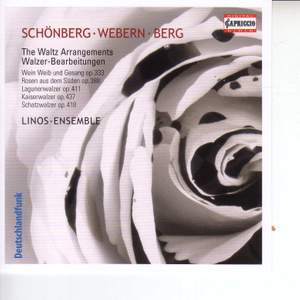 J Strauss II: Waltz Arrangements by Schoenberg, Webern and Berg