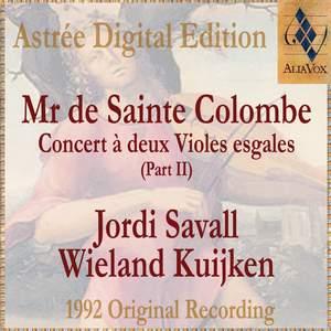 Mr De Sainte Colombe: Concerts À Deux Violes Esgales (Vol. Ii) Product Image