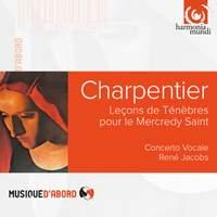 Charpentier, M-A: Lecons De Tenebres De Mercredi Saint.