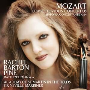 Mozart: Complete Violin Concertos & Sinfonia Concertante