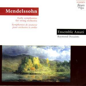Mendelssohn: Early Symphonies for String Orchestra