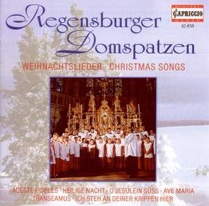 Christmas Choral Concert: Regensburg Cathedral Choir - Lutzel, J.H. / Pachelbel, J. / Handl, J. / Rheinberger, J.G. / Brahms, J. / Britten, B.