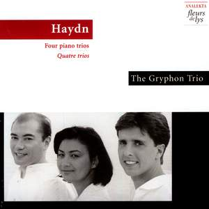 Haydn: Four piano trios Product Image
