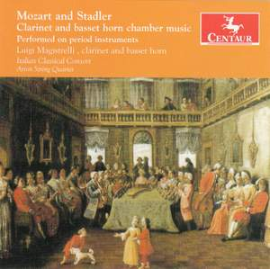 Mozart & Stadler: Clarinet & Basset Horn Chamber Music Product Image