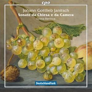 Janitsch: Sonate da chiesa e da camera Product Image