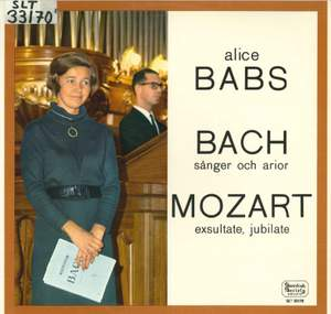 JS Bach & Mozart: Works for Voice