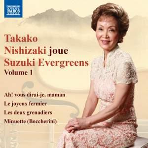 Takako Nishizaki joue Suzuki Evergreens, Vol. 1