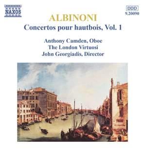 Albinoni: Concertos pour hautbois, Vol. 1