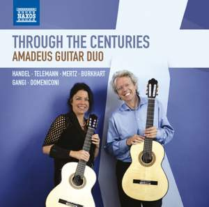 Through the Centuries: Amadeus Guitar Duo Product Image