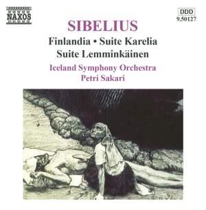 Sibelius: Finlandia, Suite Karelia & Suite Lemminkäinen Product Image