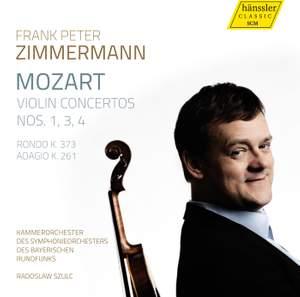 Mozart: Violin Concertos Nos. 1, 3, 4, Rondo K. 373 & Andante K. 261