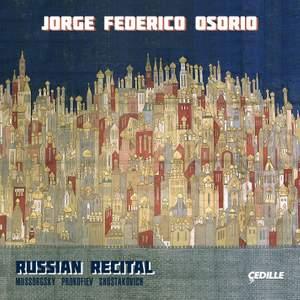 Russian Recital: Jorge Federico Osorio