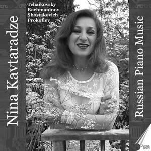 Russian Piano Music: Nina Kavtaradze Product Image