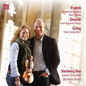 Franck, Dvorak & Grieg: Works for Violin & Piano