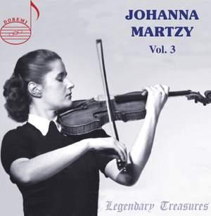 Johanna Martzy, Vol. 3