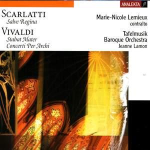 A Scarlatti: Salve Regina, Vivaldi: Stabat Mater & Concertos for Strings Product Image