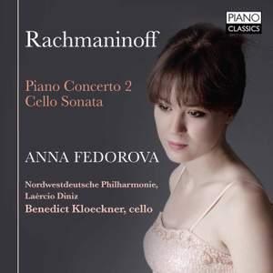 Rachmaninov: Piano Concerto No. 2 & Cello Sonata Product Image