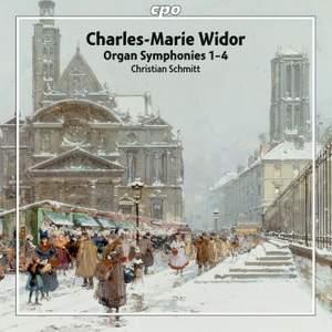 Widor: Organ Symphonies Nos. 1-4