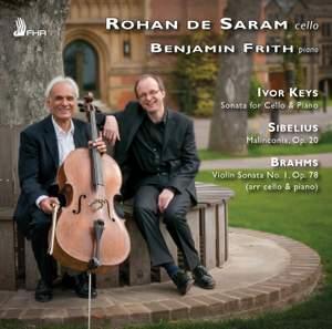 Keys, Sibelius & Brahms: Works for Cello & Piano