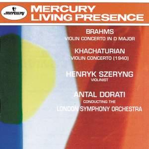 Brahms & Khachaturian: Violin Concertos Product Image