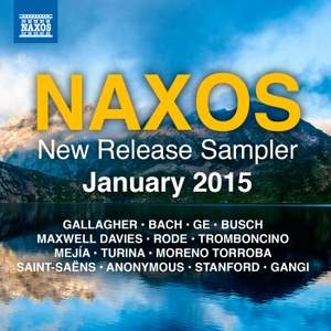 Naxos January 2015 New Release Sampler Product Image