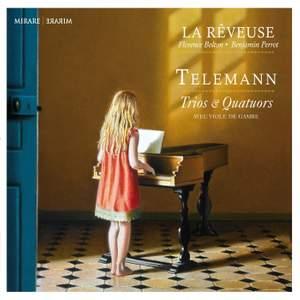 Telemann: Trios & Quartets with viola da gamba Product Image