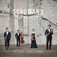 Mozart, Ives & Verdi: String Quartets