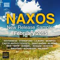 Naxos February 2015 New Release Sampler