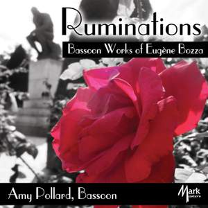 Ruminations: Bassoon Works of Eugène Bozza