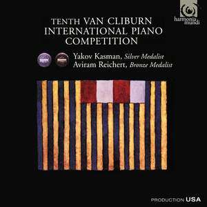 Tenth Van Cliburn Piano Competition - Silver & Bronze Medalists
