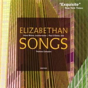Thomas Campion: Elizabethan Songs