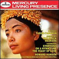 Howard Hanson conducts music by McPhee, Sessions and Thomson