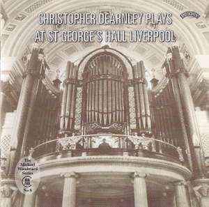 Christopher Dearnley plays at St.George's Hall, Liverpool