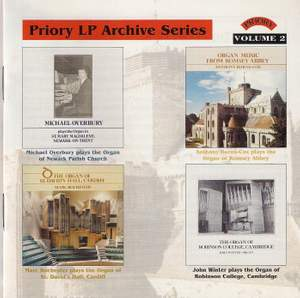 LP Archive Series - 2 Organ Music from Robinson College, Cambridge Product Image