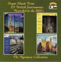 Historic Organ Music from 23 British Instruments - Recorded in the 1960's: Worcester Cathedral