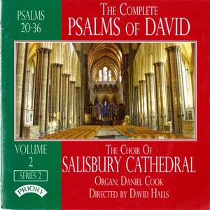 The Complete Psalms of David Series 2 Volume 2