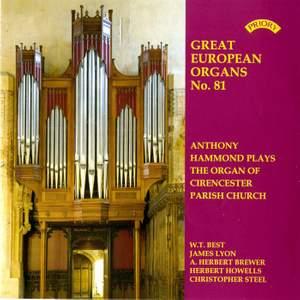 Great European Organs No.81: The Organ of Cirencester Parish Church