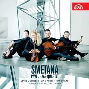 Smetana: String Quartets Nos. 1 & 2 Product Image