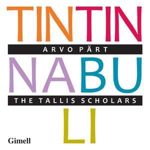 Pärt: Tintinnabuli Product Image