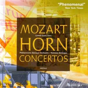Mozart: Horn Concertos, Rondeau K371 & Rondo K514