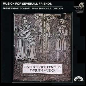 Musick For Severall Friends - 17th Century English Theatre Music Product Image