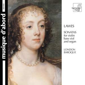 Lawes: Sonatas for Violin, Bass Viol & Organ